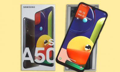 جعبه گشایی گوشی سامسونگ Galaxy A50s   مجله اینترنتی Digi2030
