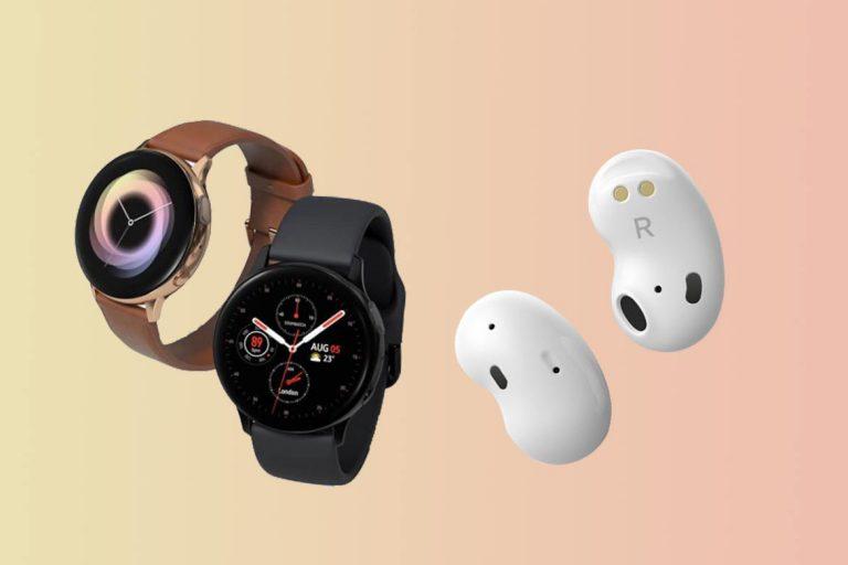 ساعت هوشمند سامسونگ Galaxy Watch 3 و هدفون بیسیم Galaxy Budsx