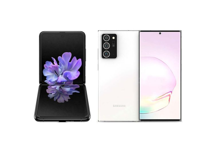 نسخه 5G گوشی سامسونگ Z Flip در 5 آگوست همراه با سری نوت 20 رونمایی خواهد شد