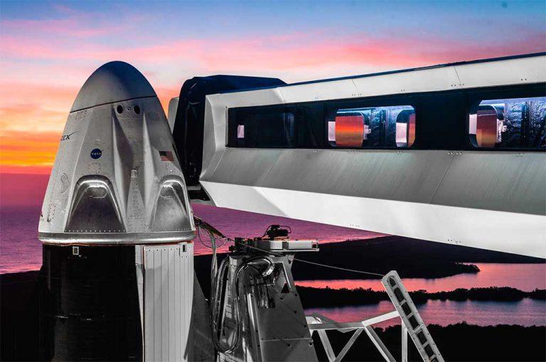 برنامه ریزی ناسا برای کرو دراگون