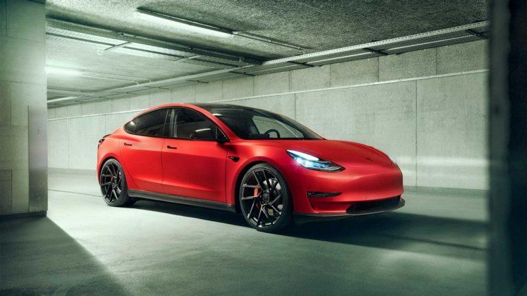 نسخه جدید خودرو مدل 3 تسلا