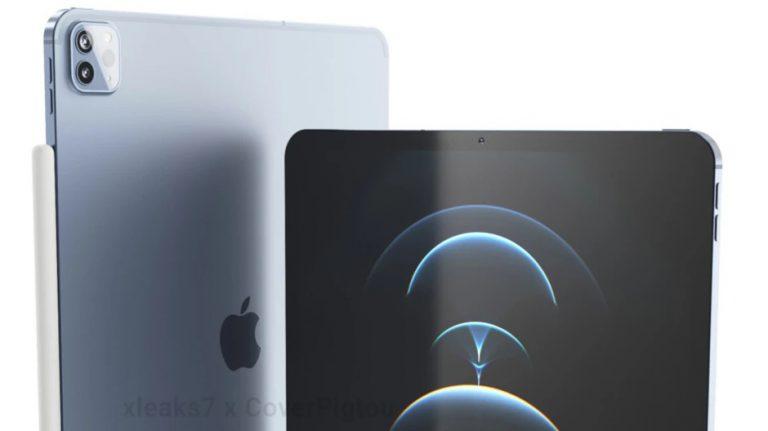 انتشار رندر آیپد پرو 2021 5G اپل