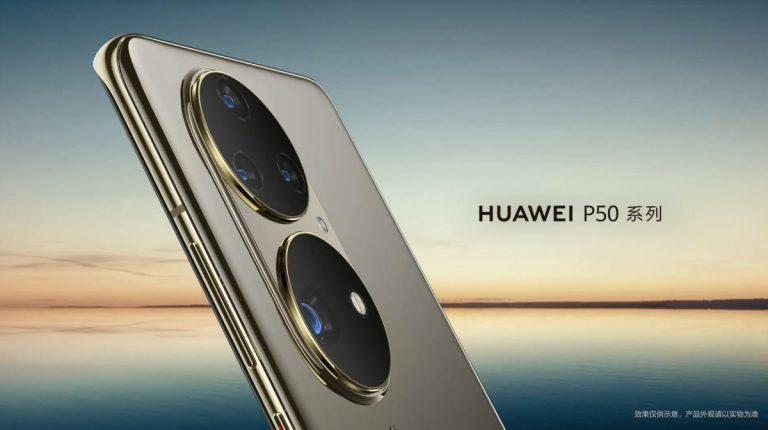 طراحی گوشی HUAWEI P50