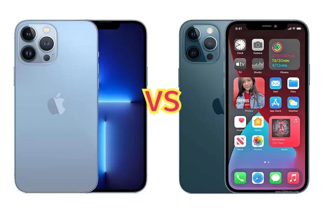 مقایسه گوشی های آیفون 12 پرومکس و آیفون 13 پرومکس